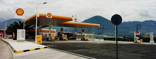 Κατασκευή πρατηρίου υγρών καυσίμων Shell